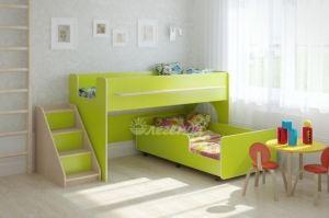 Детская кровать выкатная Легенда 23.4 - Мебельная фабрика «Легенда»
