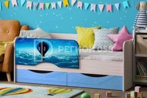 Детская кровать Юниор-12 МДФ с фотопечатью - Мебельная фабрика «Регион 058»