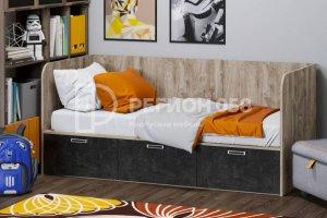 Детская кровать Юниор-14 ЛДСП - Мебельная фабрика «Регион 058»