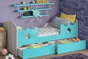 Детская кровать Юниор-16 - Мебельная фабрика «Регион 058»