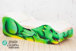Детская кровать-зверята Дракон Задира - Мебельная фабрика «Гамма-мебель»