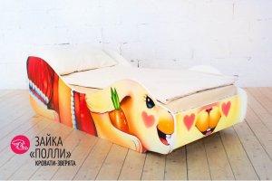 Детская кровать-зверята Зайка Полли - Мебельная фабрика «Гамма-мебель»
