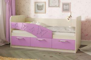Детская кроватка Бабочки - Мебельная фабрика «СВК»