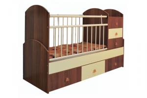 Детская кроватка Беби - Мебельная фабрика «Башмебель-плюс»