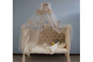 Детская кроватка Бежевая - Мебельная фабрика «Няня»
