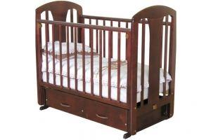Детская кроватка из массива Виталина - Мебельная фабрика «Лилель»
