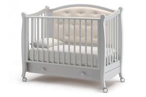 Детская кроватка на колесах Жанетт - Мебельная фабрика «Гандылян»