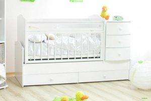 Детская кроватка с комодом Кирюша - Мебельная фабрика «Лилель»
