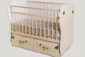 Кроватка Сафаня №6 - Мебельная фабрика «Сафаня»