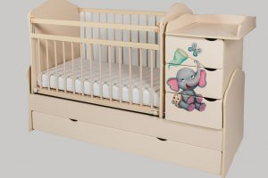 Кровать-трансформер Сафаня №2 печать - Мебельная фабрика «Сафаня»