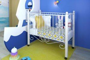 Детская кроватка Женечка Lux - Импортёр мебели «Мебвилл»