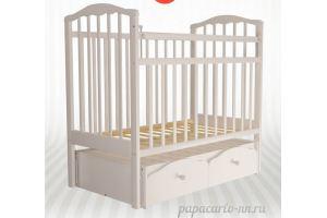 Детская кроватка Золушка 7 - Мебельная фабрика «Агат»