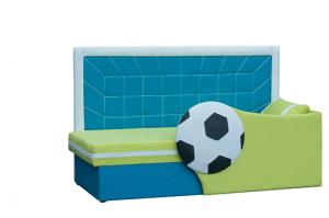 детская кушетка НЕО 14 (Футбол) - Мебельная фабрика «Нео-мебель»