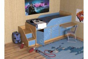 Детская Кузя 3 - Мебельная фабрика «СлавМебель»