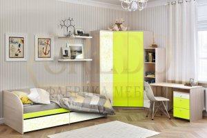 Детская Лайм с угловым шкафом - Мебельная фабрика «Кредо»