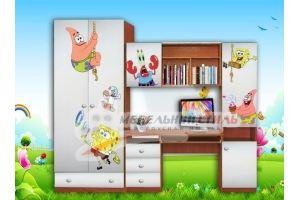 Детская ЛДСП фотопечать Боб - Мебельная фабрика «Мебельный стиль»