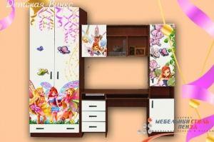 Детская ЛДСП фотопечать Винкс - Мебельная фабрика «Мебельный стиль»