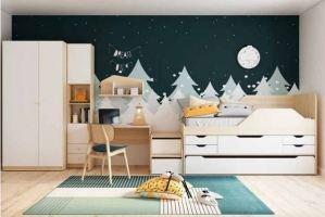 Детская лофт Гео Сафари - Мебельная фабрика «Инволюкс»