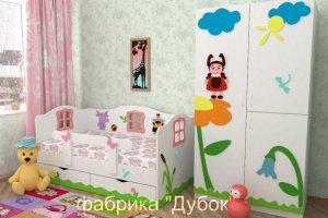 Детская Лунтик - Мебельная фабрика «Дубок»