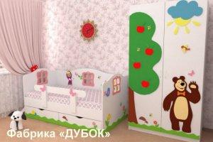 Детская Маша и Медведь - Мебельная фабрика «Дубок»