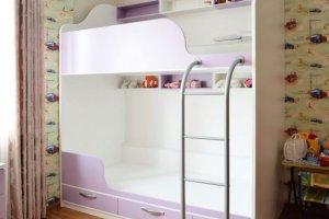 Детская мебель 005 двухъярусная кровать - Мебельная фабрика «Ре-Форма»