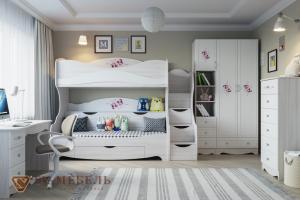 Детская мебель Акварель 1 для двоих - Мебельная фабрика «SV-мебель»