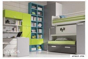 Детская мебель Балу с двухъярусной кроватью - Мебельная фабрика «NIKA premium»