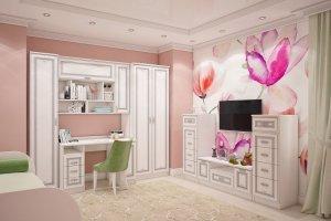 Детская мебель белая София - Мебельная фабрика «Люкс-С»