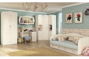 Детская мебель белая Лика-1 - Мебельная фабрика «Мир Нестандарта»