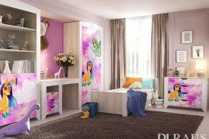 Детская мебель Буква 1 - Мебельная фабрика «РАУС»