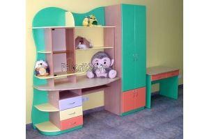 Детская мебель цветная - Мебельная фабрика «Фаворит»