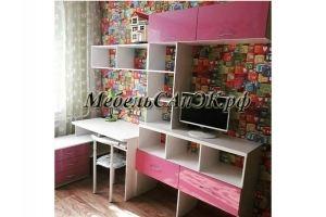 Детская мебель для девочки 0023 - Мебельная фабрика «САнЭК»
