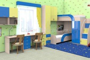 Детская мебель для двоих - Мебельная фабрика «Мебельщик»