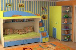 Детская мебель для двоих детей - Мебельная фабрика «SaEn»