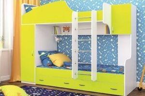 Детская мебель для двоих Сеня - Мебельная фабрика «Мир Нестандарта»