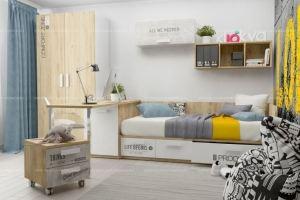 Детская мебель Junior Print коллекция LOFT - Мебельная фабрика «Klюkva»