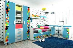 Детская мебель Junior VECTOR - Мебельная фабрика «Клюква»