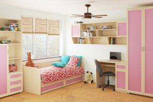 Детская мебель Камилла - Мебельная фабрика «Континент-мебель»