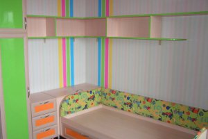 Детская мебель кровать и шкаф - Мебельная фабрика «ДОН-Мебель»