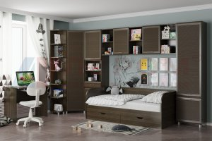 Детская мебель Ксюша 6 - Мебельная фабрика «Лером»
