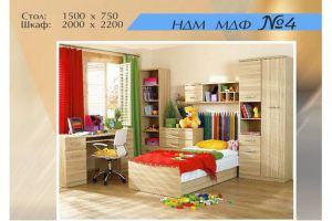 Детская мебель МДФ 4 - Мебельная фабрика «Мебель Шик»