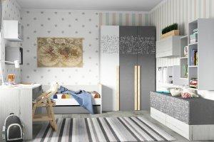 Детская мебель Ньютон Грэй - Мебельная фабрика «38 попугаев»