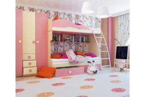 Детская мебель Радуга для двух девочек - Мебельная фабрика «Горизонт», г. Пенза
