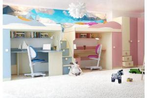Детская мебель Радуга смешанная - Мебельная фабрика «Горизонт», г. Пенза