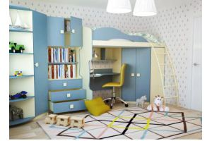 Детская мебель Радуга василек - Мебельная фабрика «Горизонт», г. Пенза