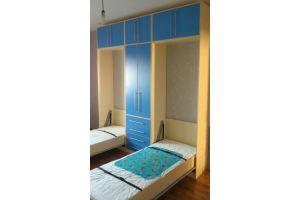 Детская мебель с двумя откидными кроватями - Мебельная фабрика «Удобна»