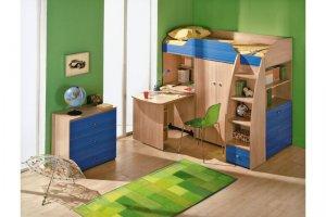 Детская мебель с кроватью-чердаком - Мебельная фабрика «Интерьер»