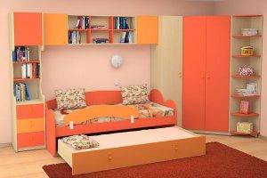 Детская мебель с кроватью-матрешкой - Мебельная фабрика «Интерьер»