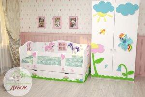 Детская Милые Пони - Мебельная фабрика «Дубок»