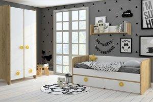 Детская Mini Белый+дуб золотой - Мебельная фабрика «Клюква»